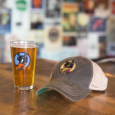 Garcia Wolf Hat & Pint Glass Bundle