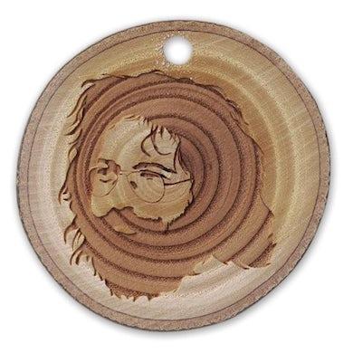 Jerry Garcia Reclaimed Wood Linden Ornament