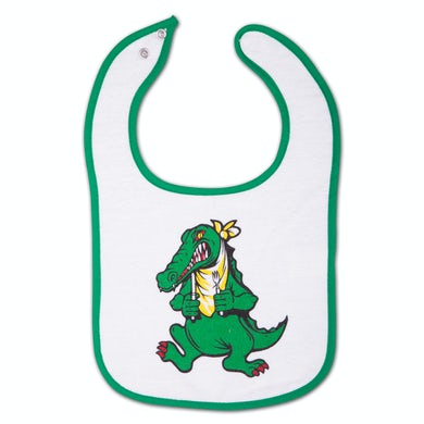Jerry Garcia Alligator Infant Snap Baby Bib