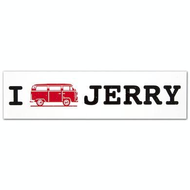 Jerry Garcia Bumpersticker | Minibus