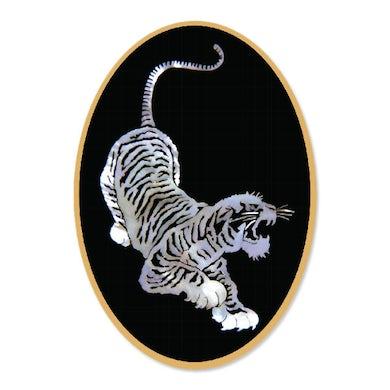 Jerry Garcia Tiger Sticker