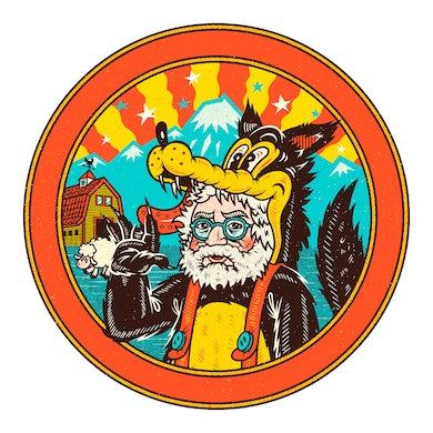 Jerry Garcia Garcia in Wolf's Clothing Sticker