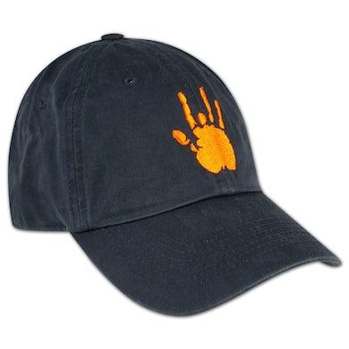 Jerry Garcia Handprint Baseball Hat with Orange Logo