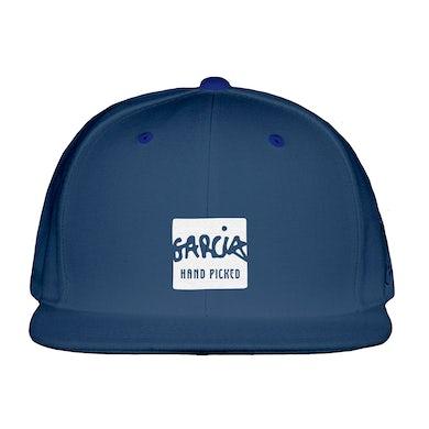 Jerry Garcia Garcia Hand Picked Navy Flat Brim Hat