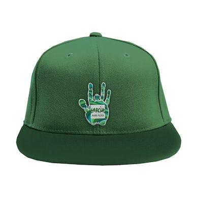 Jerry Garcia Garcia Hand Picked Green Flat Brim Hat