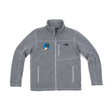 Jerry Garcia Wolf x The North Face Sweater Fleece Jacket