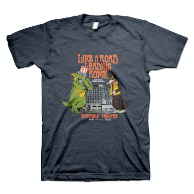 Jerry Garcia Like a Road Leading Home Men's Organic Event T-Shirt