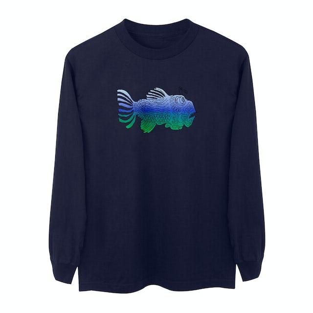 Jerry Garcia Longsleeve Fish T-Shirt