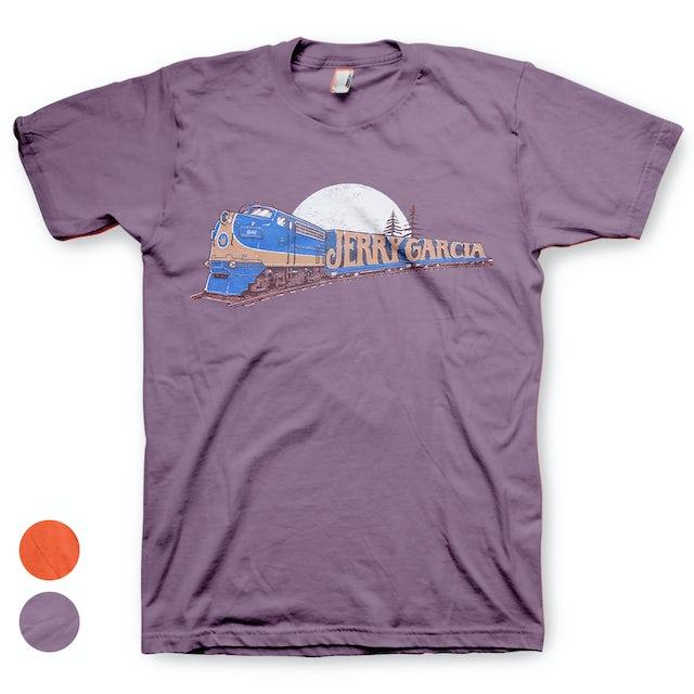 00f81af4 Jerry Garcia Freight Train Organic T Shirt