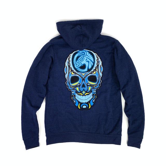 Govt Mule Skull Logo Zip Hoodie