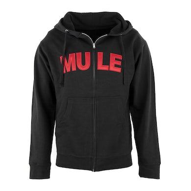 MULE Black Zip Hoodie
