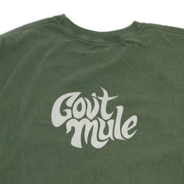 Govt Mule Long Sleeve Green Pigment Dye
