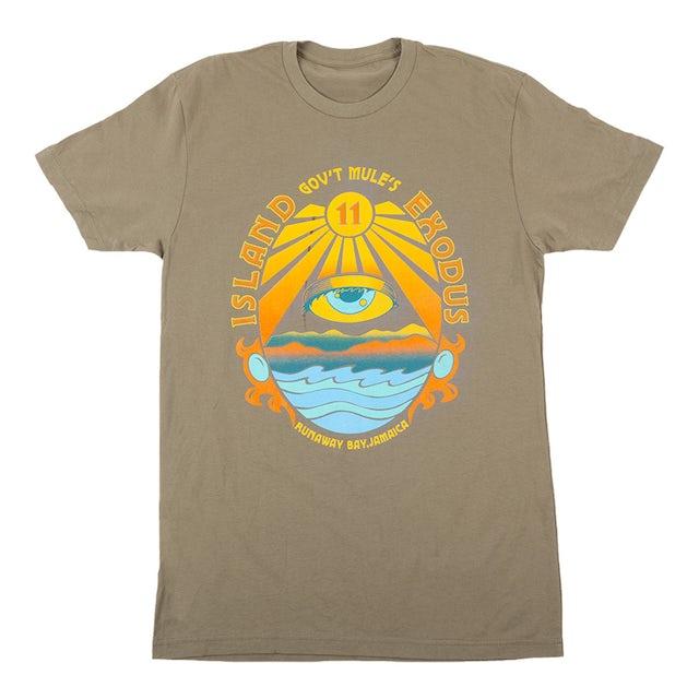 Govt Mule Island Exodus 11 Event T-Shirt - XL Only