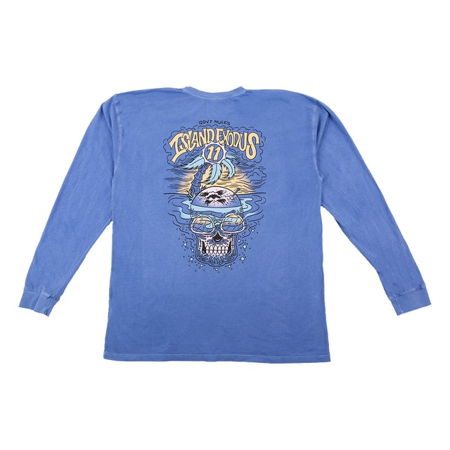 Govt Mule Island Exodus 11 Long Sleeve Event T-Shirt