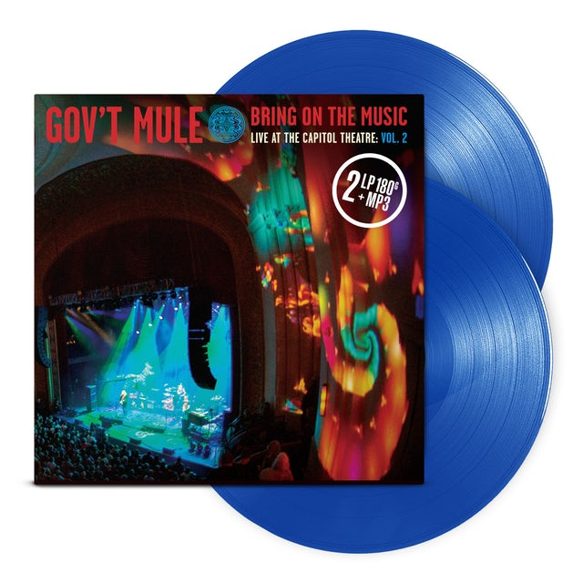 Govt Mule Blue 2 LP Volume 2: Bring On The Music / Live at The Capitol Theatre (Vinyl)