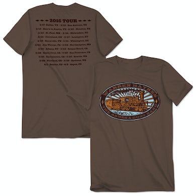 Govt Mule Warren Haynes 2016 Tour Train Logo T-Shirt