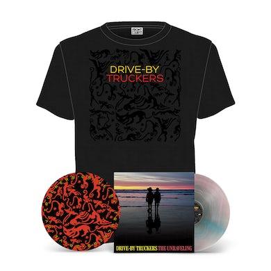 Drive-By Truckers The Unraveling LP + Slipmat + T-Shirt Bundle