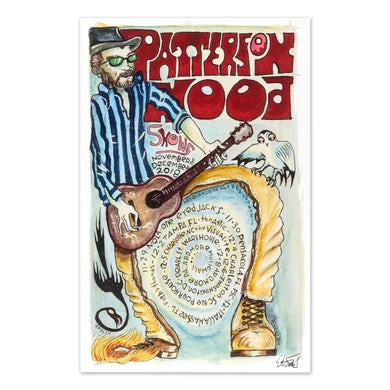 Drive-By Truckers Patterson Hood  Nov/Dec 2018 Poster