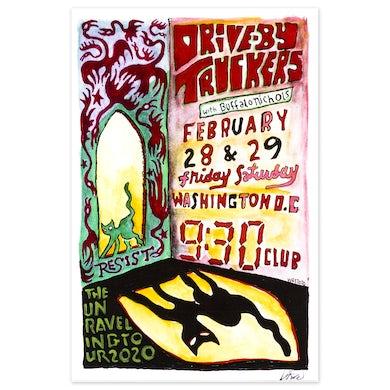 9:30 Club February 28-29 2020 Poster