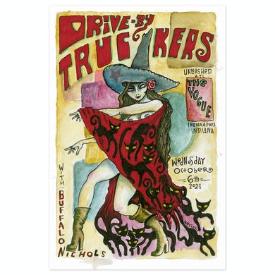 Drive-By Truckers Indianapolis - October 2021 Poster