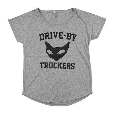 Drive-By Truckers Women's Grey Cat T-Shirt