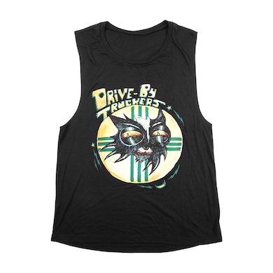 Drive-By Truckers Black Cat Logo Tank