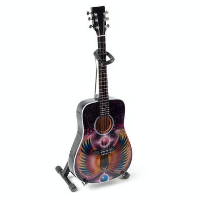 Neal Schon Journey Scarab Acoustic Mini Guitar