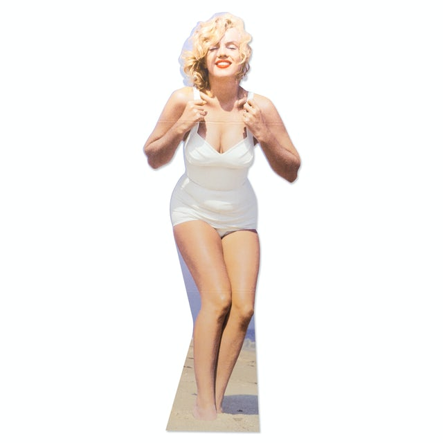 Marilyn Monroe Beach Lifesize Stand Up