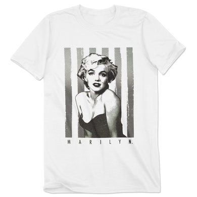 Marilyn Monroe Pin up Stripes Tee