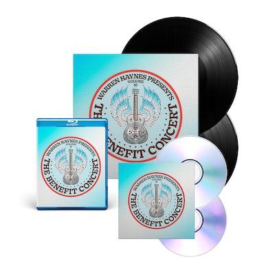 Evil Teen Records Double Vinyl + Blu-Ray + CD/DVD Bundle: The Benefit Concert V. 16