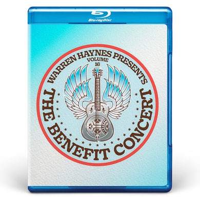 Evil Teen Records Blu-Ray Edition: Warren Haynes Presents: The Benefit Concert V. 16