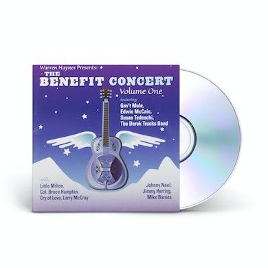 Evil Teen Records Warren Haynes Presents: The 1999 Benefit Concert Volume 1 2-CD Set