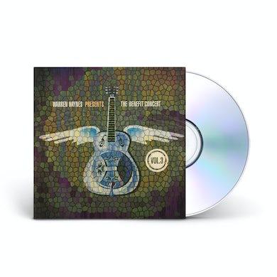 Evil Teen Records Warren Haynes Presents: The 2001 Benefit Concert Volume 3 2-CD Set