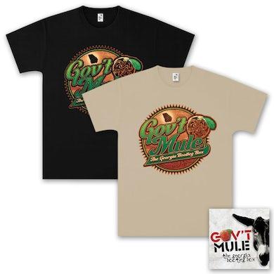 Evil Teen Records Gov't Mule – The Georgia Bootleg Box Set CD and T-Shirt Bundle