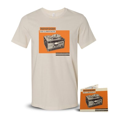 Ray Lamontagne AUTOGRAPHED Monovision CD + T-Shirt + Digital Download