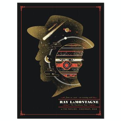 Ray Lamontagne The Ouroboros Tour 2016 - Cincinnati, OH Poster