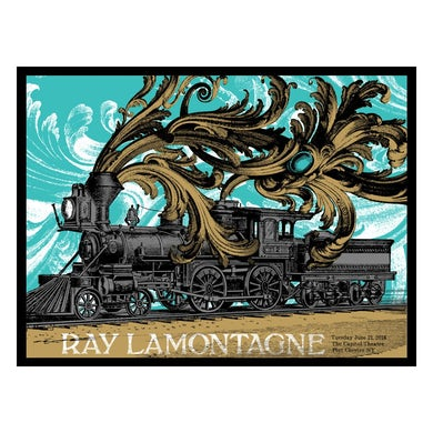 Ray Lamontagne The Ouroboros Tour 2016 - Port Chester, NY Poster