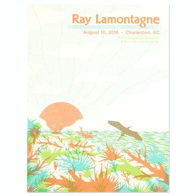 Ray Lamontagne The Ouroboros Tour 2016 - Charleston, SC Poster