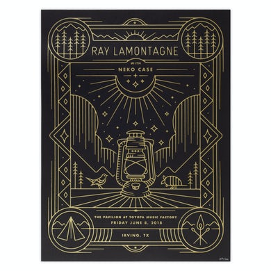 Ray Lamontagne Part Of The Light Tour 2018 - 6/8 Irving TX Poster