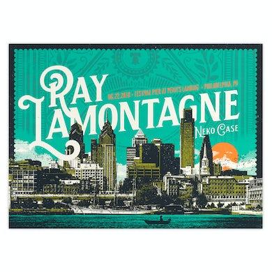 Ray Lamontagne Part Of The Light Tour 2018 - 6/22 Philadelphia PA Poster