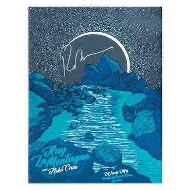 Ray Lamontagne Part Of The Light Tour 2018 - 7/7 St. Louis, MO Poster