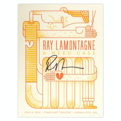 Ray Lamontagne Part Of The Light Tour 2018 - 7/8 Kansas City, MO Poster