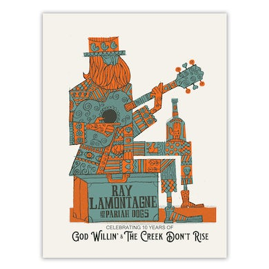 Ray LaMontagne and the Pariah Dogs Poster