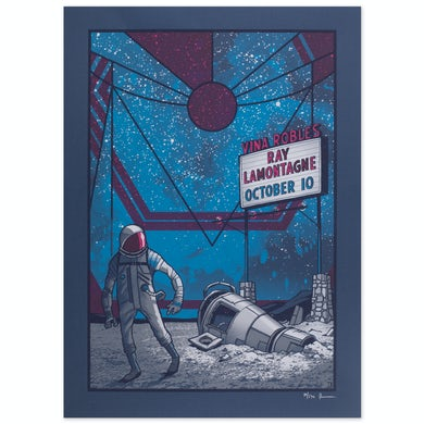 Ray Lamontagne 2014 Vina Robles, CA Event Poster