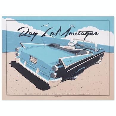 Ray Lamontagne 2014 Santa Barbara County Event Poster