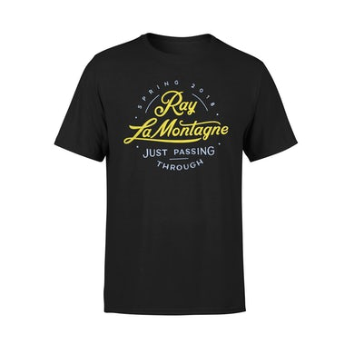 Ray Lamontagne Just Passing Through 2018 Spring Tour Tee