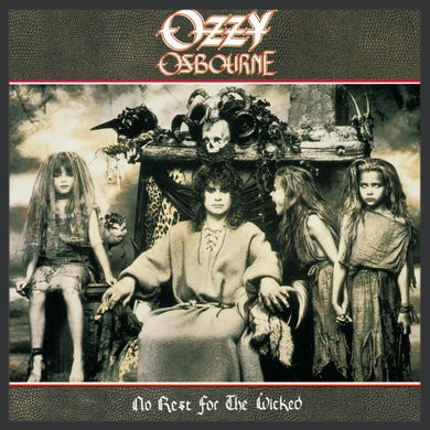 Ozzy Osbourne No Rest For The Wicked CD