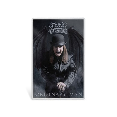 Ozzy Osbourne Ordinary Man Cassette - Original Cover Art