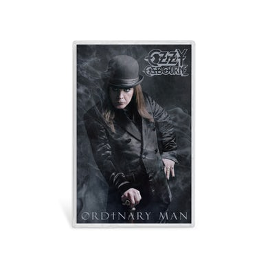 Ozzy Osbourne Ordinary Man Cassette - Cane Cover Art
