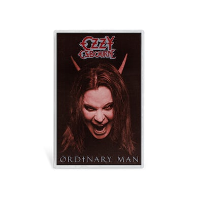 Ozzy Osbourne Ordinary Man Cassette - Devil Cover Art